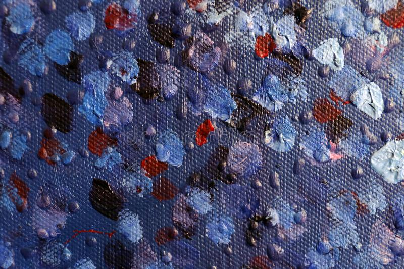 Abstract art background. Oil painting on canvas. Hand-painted. Contemporary art. Fragment of artwork.  royalty free stock photo