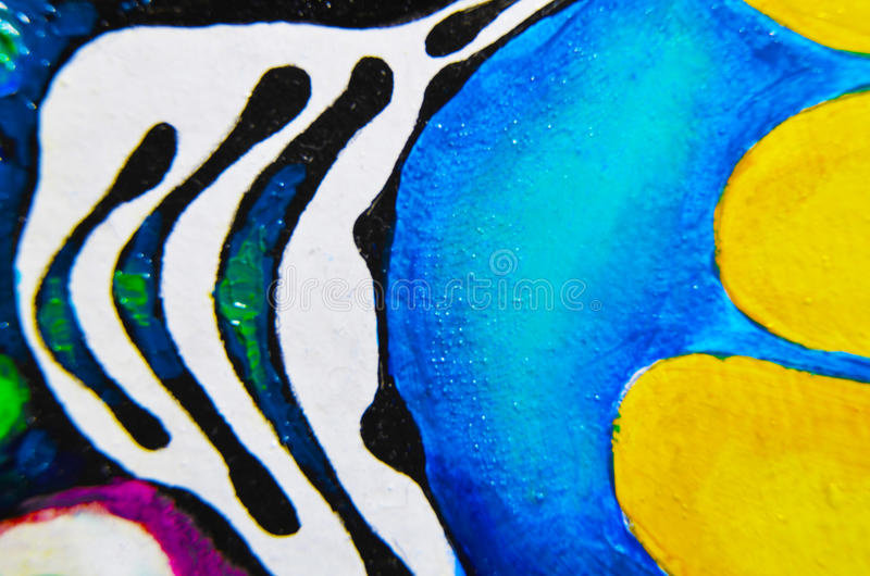 Abstract art background. Oil painting on canvas. Multicolored bright texture. Fragment of artwork.  royalty free stock image