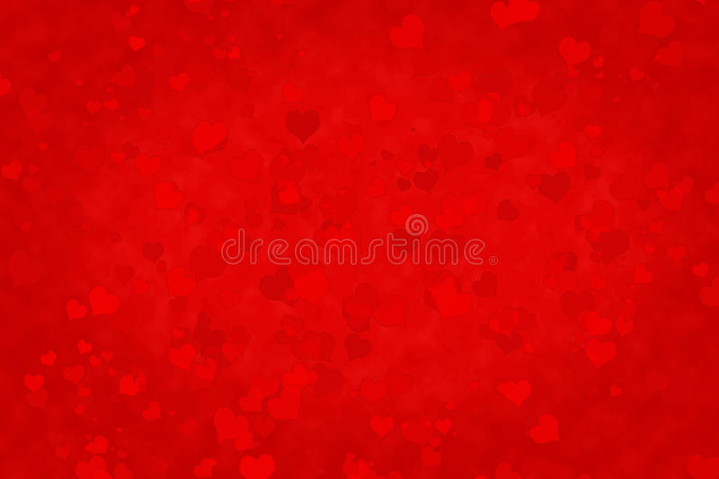 Abstract art background in style bokeh. Abstract art background in style bokeh in form heart stock illustration