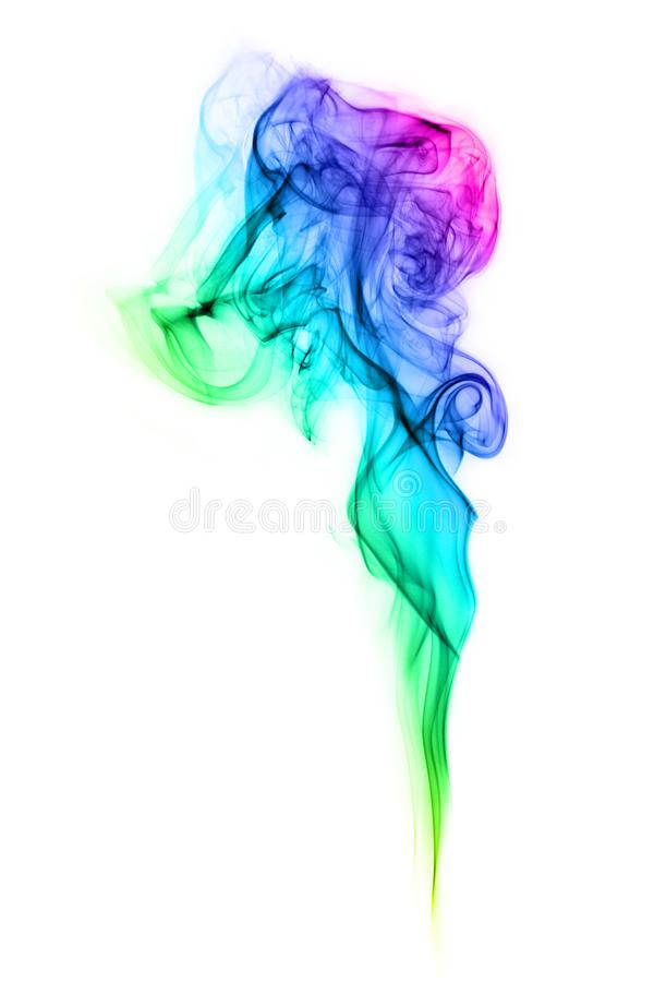 Abstract Art Colorful Smoke royalty free stock photos