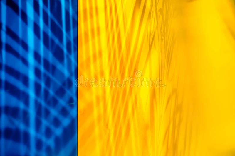 Abstract art  Colors and texture. Abstract art Colors and texture Blues yellows shadows royalty free stock photography