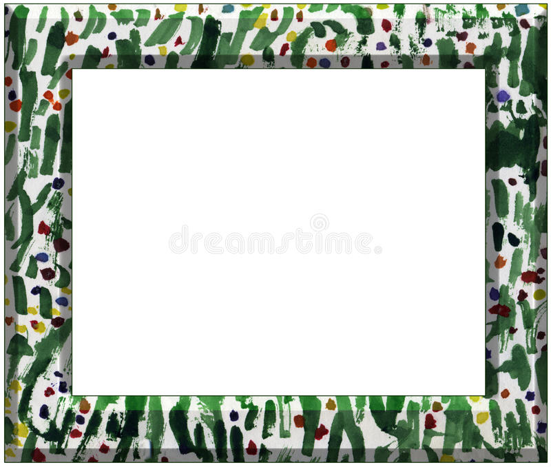 Download Abstract art frame stock illustration. Image of kids - 13100720
