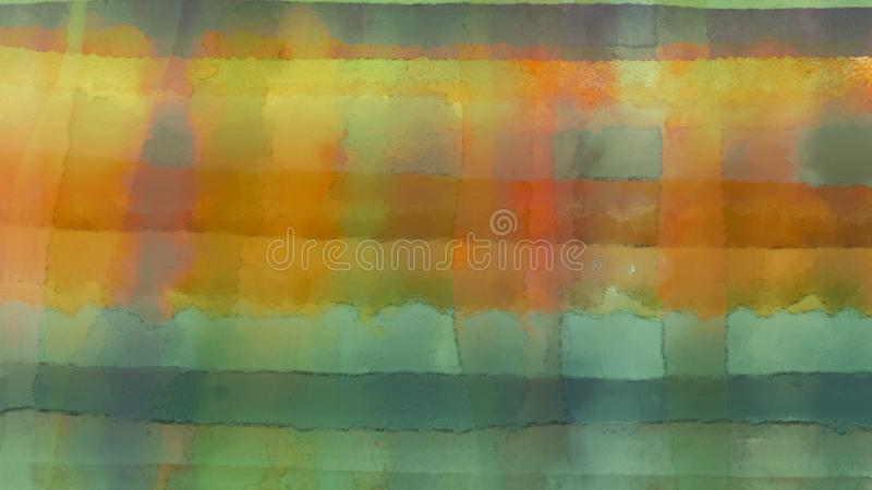 Abstract art. Ink spill on canvas board. Bright strokes. Ink spill artwork. Dry inking surface. Acrylic color splashed background. Contrast digital print paper stock illustration