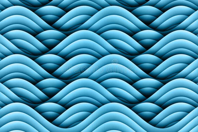 Abstract Art Waves Background Design royalty-vrije illustratie