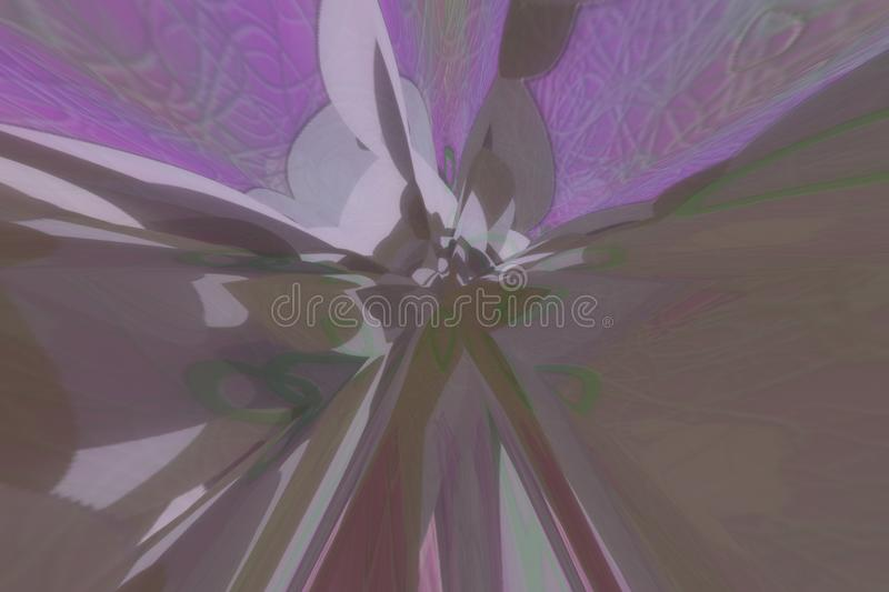 Abstract and artistic, dreamy look, motion blur style background. royalty free illustration