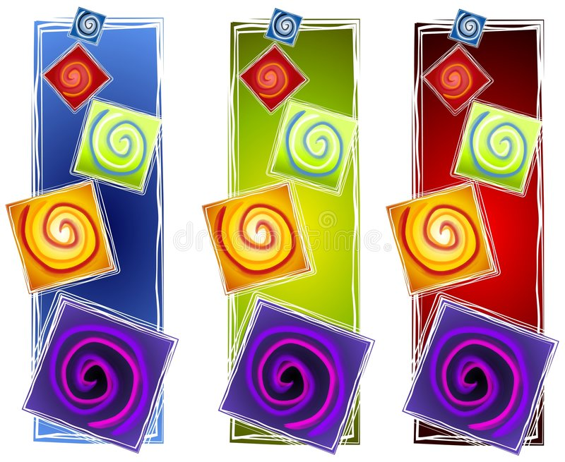 Download Abstract Artistic Spirals 2 Stock Illustration - Image: 3416969