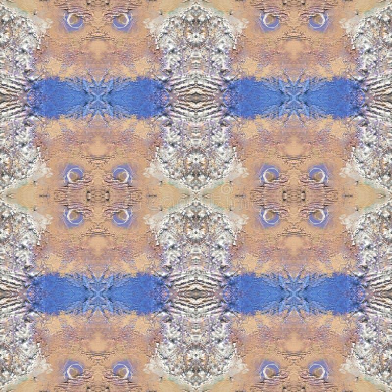 Abstract artistiek patroon met korte hand getrokken slagen Naadloze textuur in impressionismestijl voor Web, druk, stof, textiel, stock fotografie