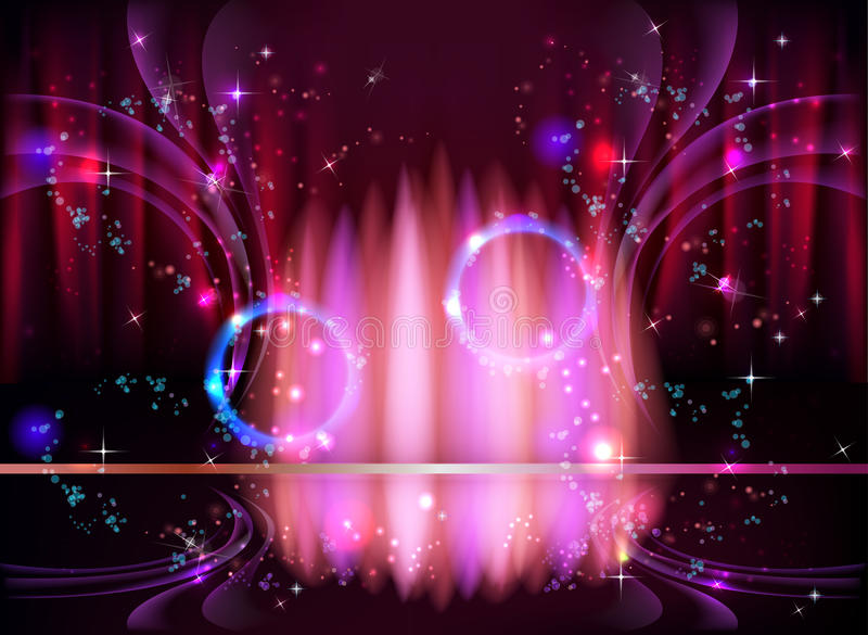 Abstract astral space concept. Abstract astral space art design stock illustration