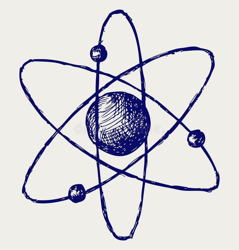 Download Abstract atom stock vector. Illustration of illustration - 26595861