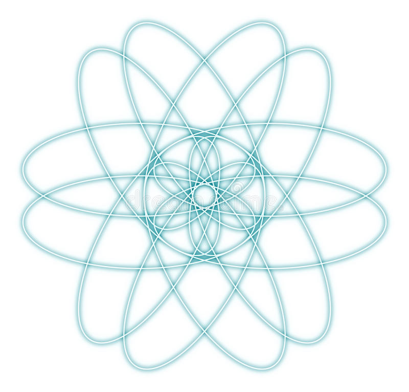 Abstract Atom Graphic Stock Photography