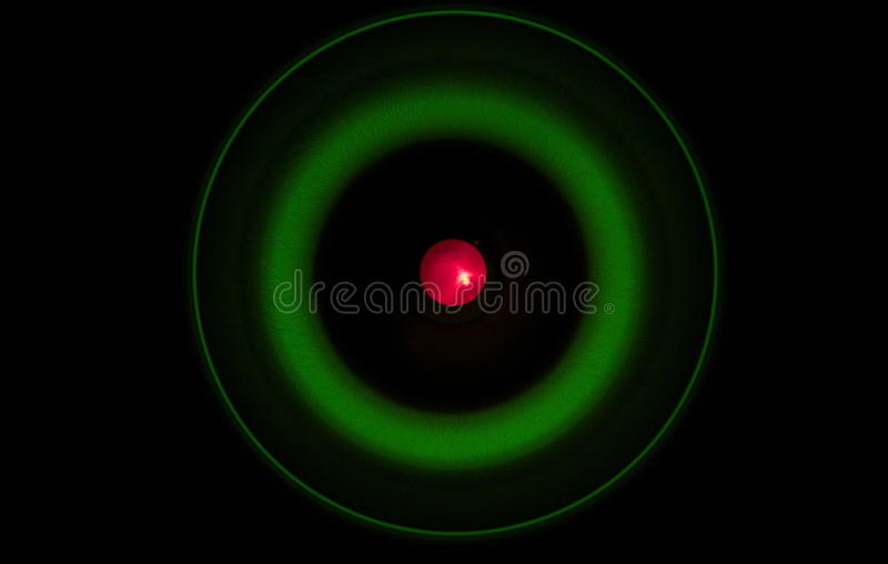 Abstract Atom Photography Stock Afbeelding
