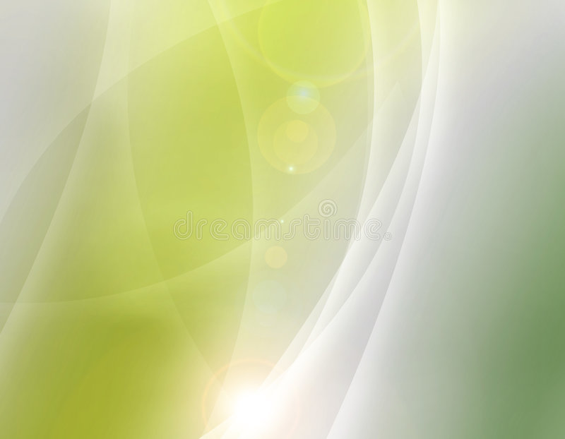 Abstract Aurora overlapping background royalty free illustration
