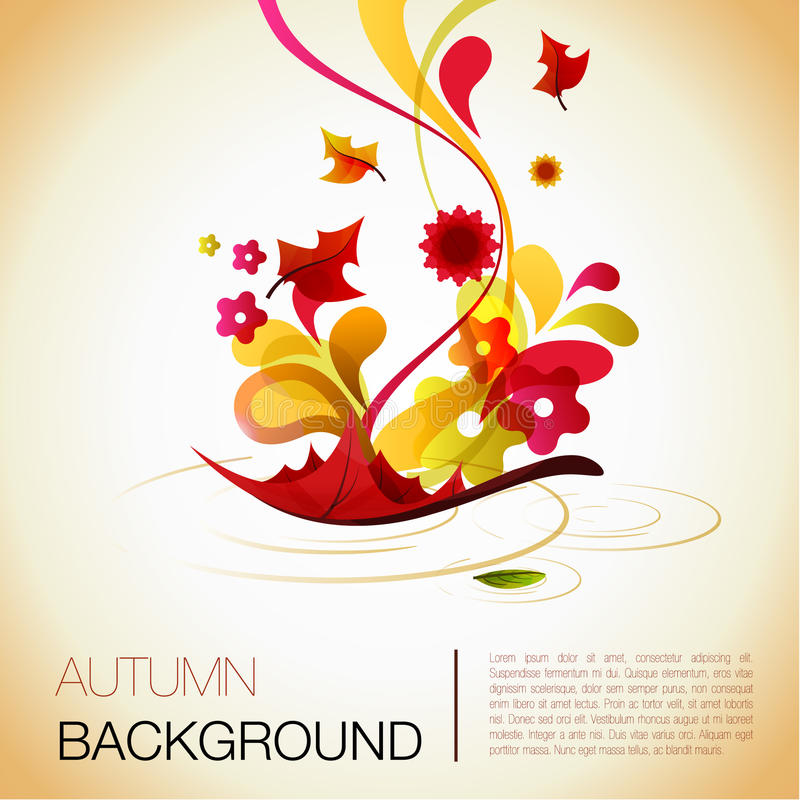 Free Abstract Autumn Background Royalty Free Stock Image - 15994156