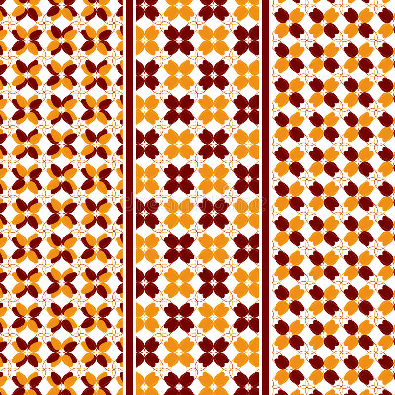 Free Abstract Autumn Leaves Pattern Royalty Free Stock Images - 60915829
