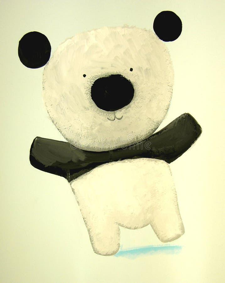 Abstract baby panda royalty free stock photography