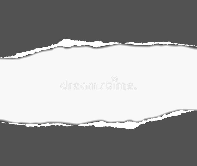 abstract back paper tear διανυσματική απεικόνιση
