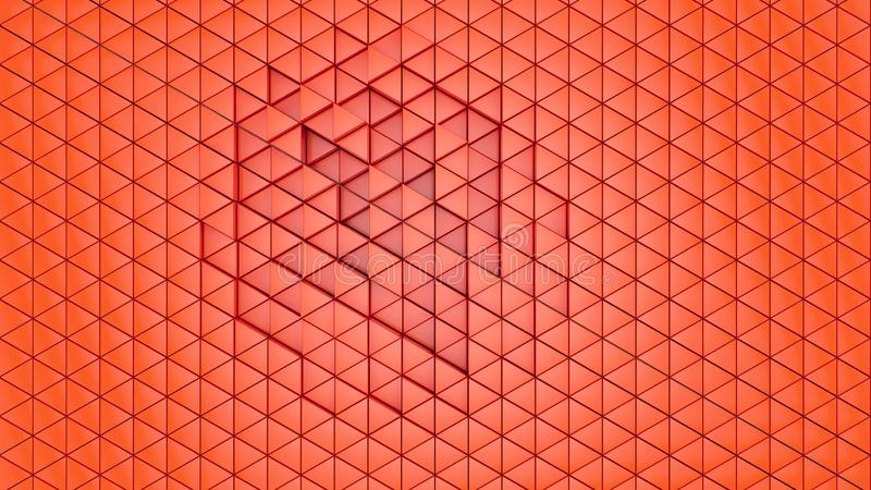 Abstract backdrop background cells clear for futuristic graphics hexagon, illustration 3D, matrix network pattern tech triangle wa vector illustration