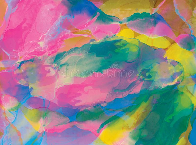 Color abstract background royalty free illustration