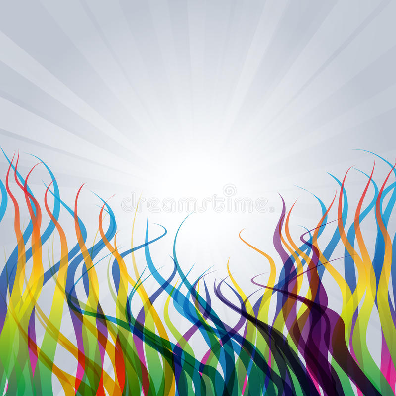 Download Abstract background stock vector. Image of beam, illustration - 14478854