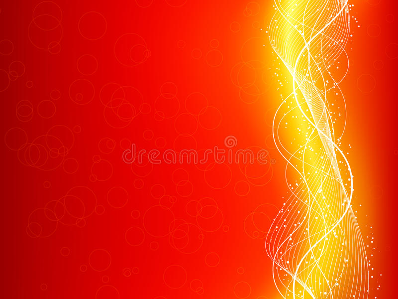 Abstract background. Abstract brightly coloured background with flowing lines royalty free illustration