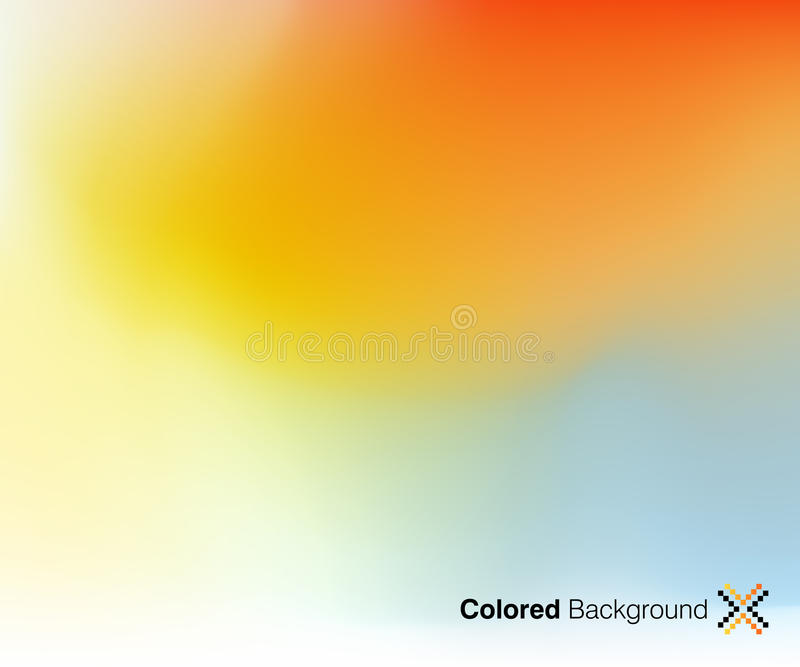 Abstract Background. Colorful and stylish abstract background stock illustration