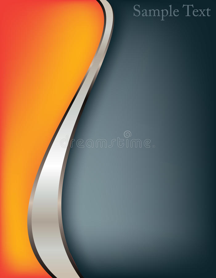 Abstract background. Elegant silver, vector royalty free illustration