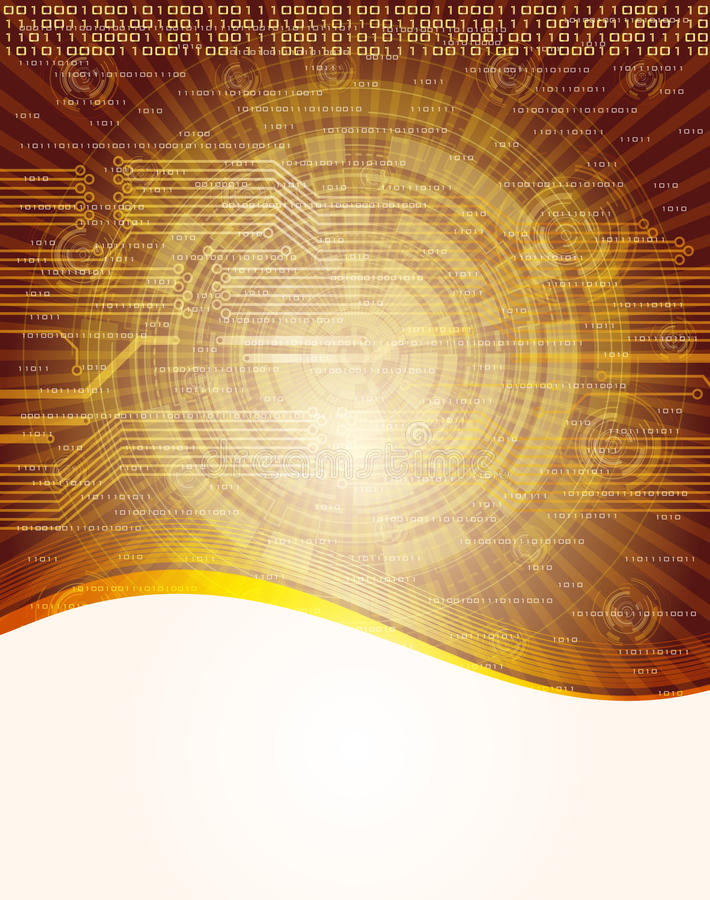 Abstract background. Abstract, technology theme background. Eps10 royalty free illustration