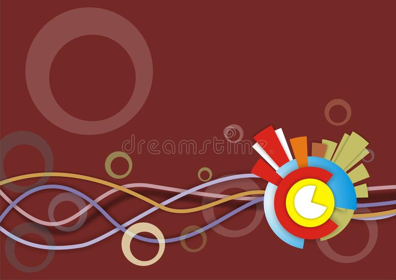 Download Abstract background stock vector. Image of creative, flow - 18684767