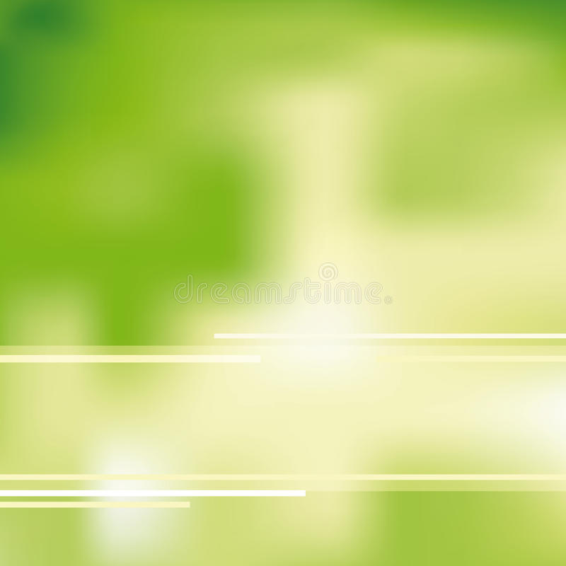 Abstract background. Green and ecological light background vector illustration