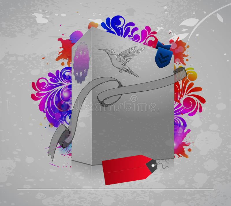 Download Abstract background stock vector. Image of bird, elegant - 24833950