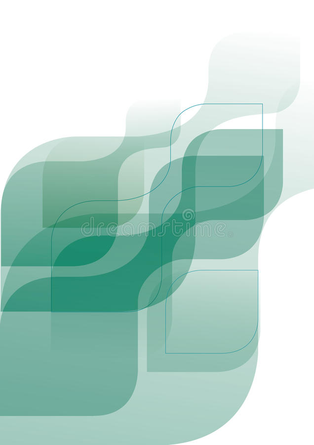 Technology background. Vector abstract composition can be used for technology business identity stock illustration