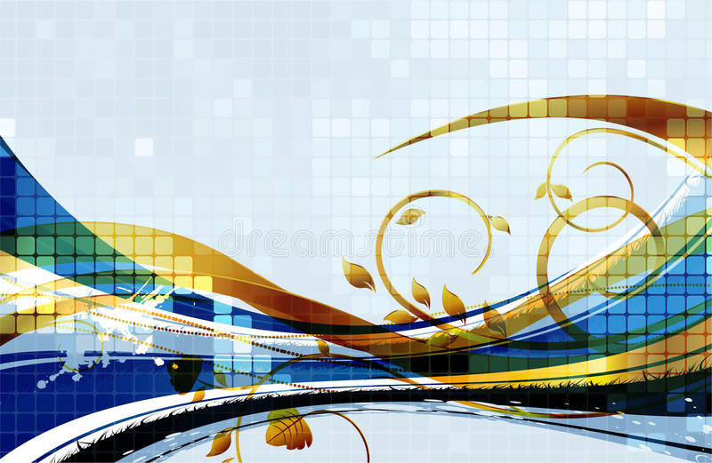 Download Abstract background stock illustration. Illustration of creativity - 25170657