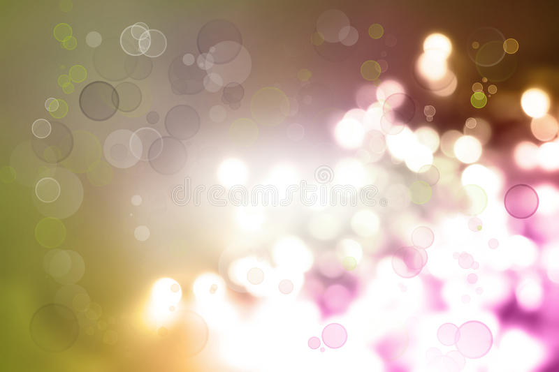 Abstract background. Bright abstract colorful lights background royalty free illustration