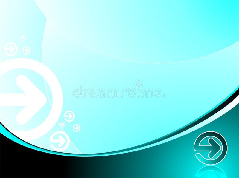 Abstract background. With arrow vector illustration