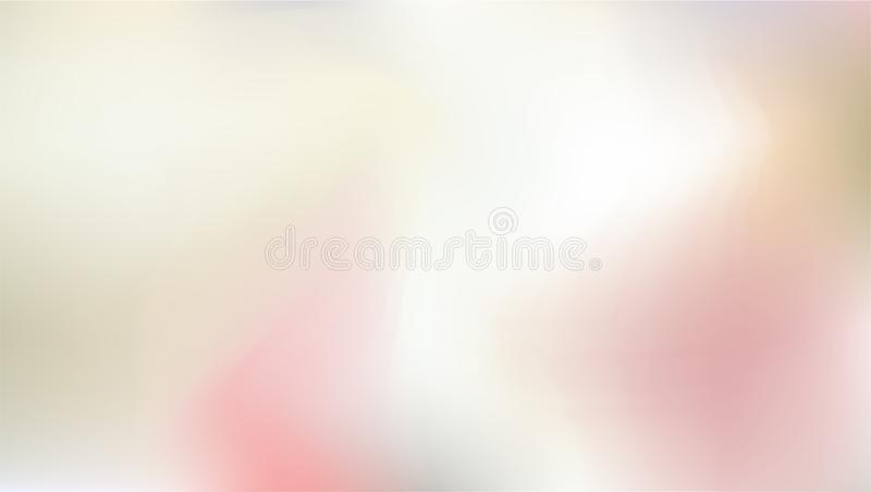 Abstract background in aqua color painting style. Smooth and blurred colorful gradient mesh background. Resizable and vector illustration