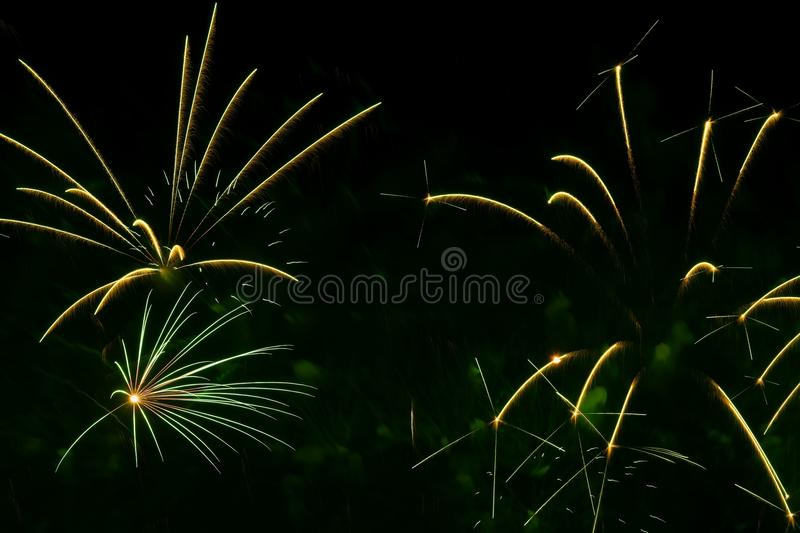Abstract background with beautiful green fireworks, holiday backdrop, aesthetic and entertainment purposes, art. For all. Abstract background with beautiful stock images