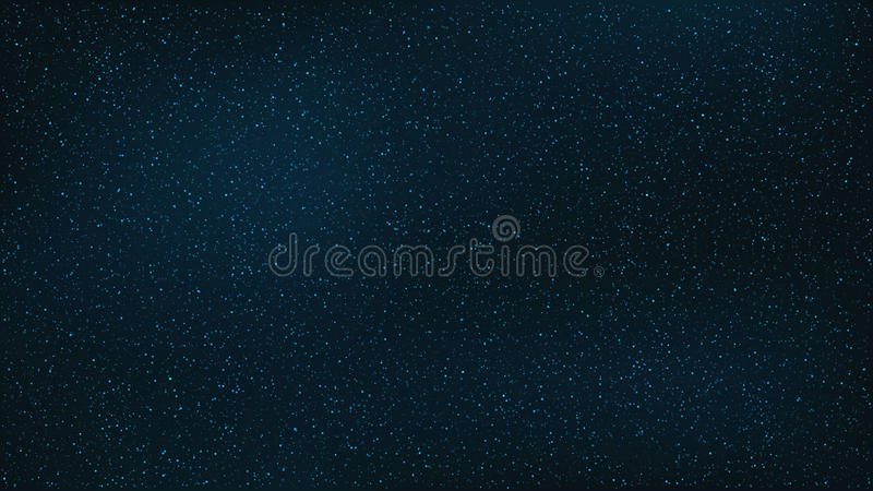 Abstract background. The beautiful starry sky is blue. Amazing sky. The stars glow in complete darkness. A stunning galaxy. Open s vector illustration