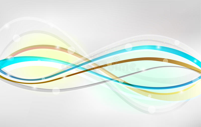 Download Abstract background stock vector. Image of graphic, wavy - 43962412