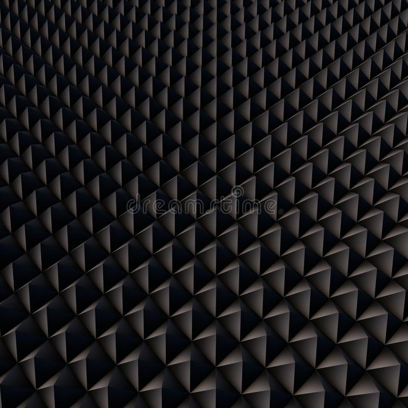 Abstract background with black polygons royalty free stock image
