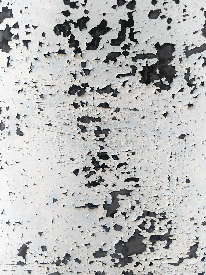 Abstract background black and white craquelure old oil paint.  stock photos