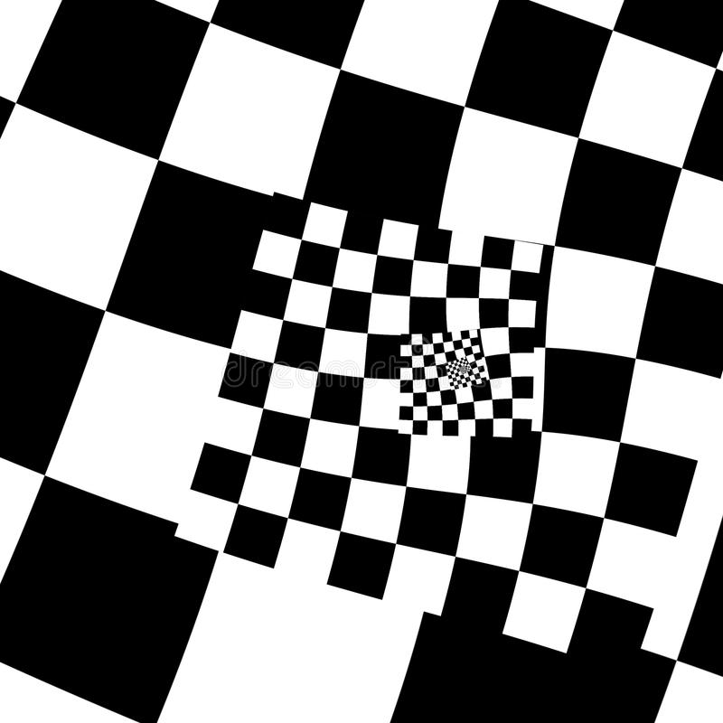 Abstract Background With Black And White Squares Stock ...