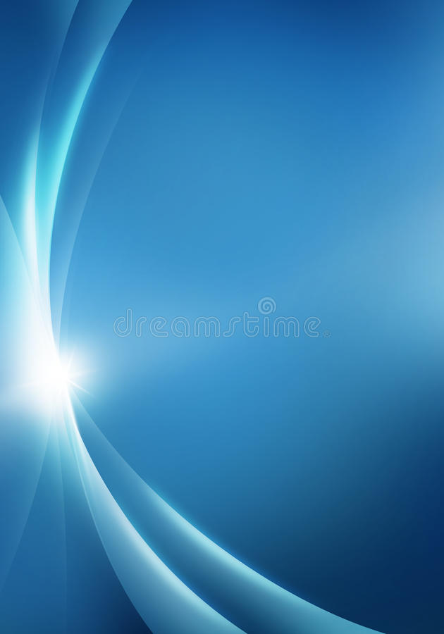 Abstract background blue stock illustration