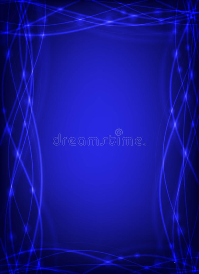 Abstract background in blue stock illustration