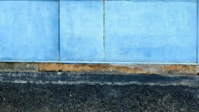 Abstract background. blue panel on stone Foundation royalty free stock photos