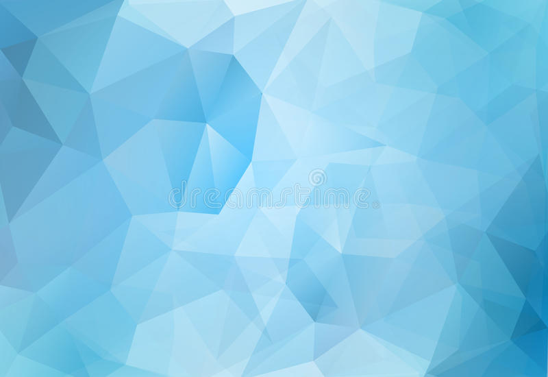 Abstract background blue polygons stock photos