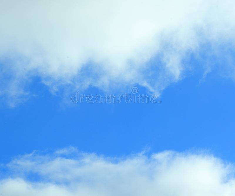 Abstract background, blue sky on a cloudy day.photo with place for text royalty free stock photos