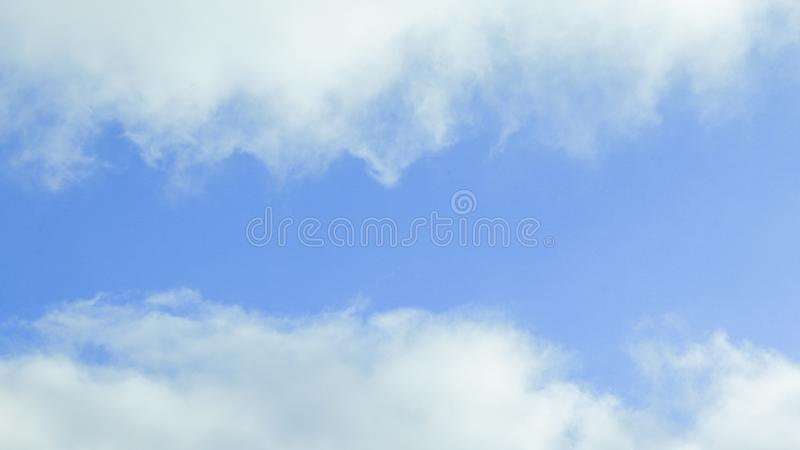 Abstract background, blue sky on a cloudy day.photo with place for text royalty free stock photo