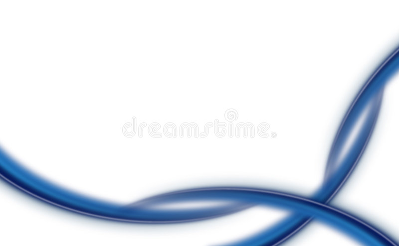 Abstract background - blue waves. Abstract background with blue waves royalty free illustration