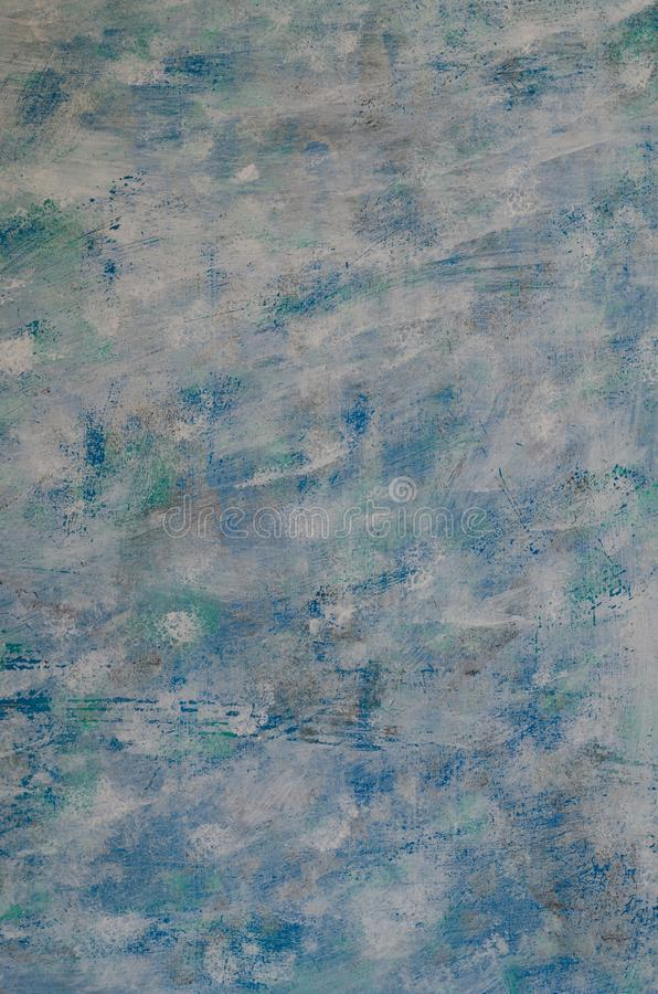 Abstract background blue, white, light green painted. mixed col. Or. texture background close up,detail royalty free stock images
