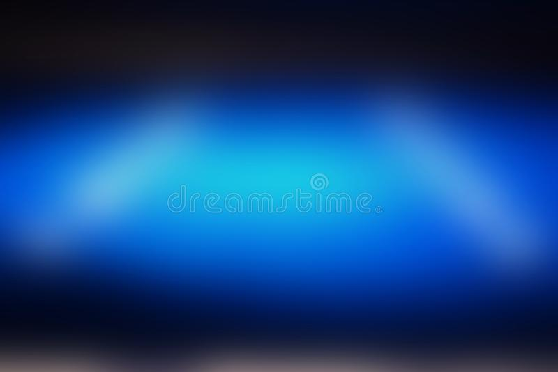 The abstract background of the blurred dark blue and lights royalty free stock photos